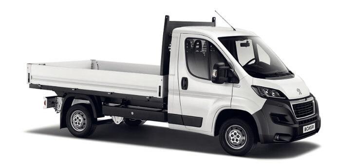 Boxer Бортова вантажівка