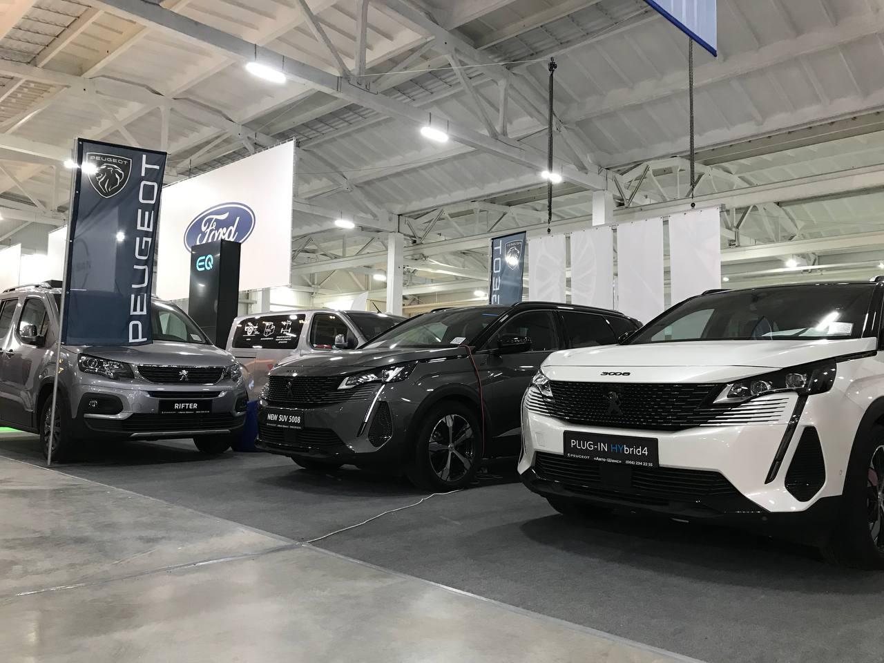 PEUGEOT представило широку лінійку авто на AgroExpo 2021