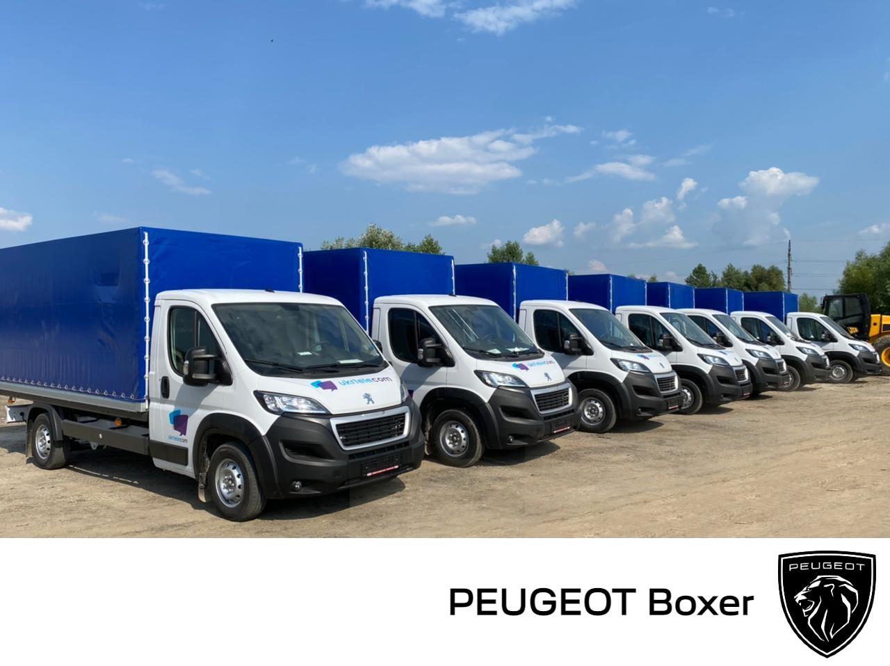 Укртелеком закупив 116 трансформованих автомобілів PEUGEOT Boxer